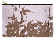 Lavender And Taupe Haiku Carry-all Pouch