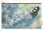Lavender And The Butterfly Carry-all Pouch