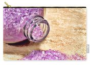 Lavender Bath Salts Carry-all Pouch by Olivier Le Queinec