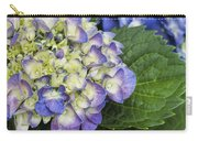 Lavender Blue Hydrangea Blossoms Carry-all Pouch