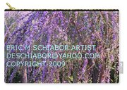 Lavender Butterfly Bush Carry-all Pouch