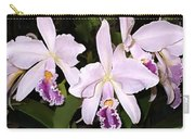 Lavender Cattleya Orchids Carry-all Pouch