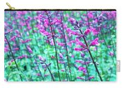 Lavender Color Flowers Carry-all Pouch