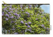 Lavender-colored Blooming Tree Carry-all Pouch