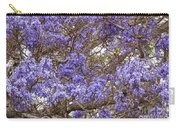 Lavender-colored Tree Blossoms Carry-all Pouch