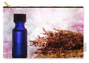 Lavender Essential Oil Bottle Carry-all Pouch