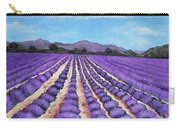 Lavender Field In Provence Carry-all Pouch