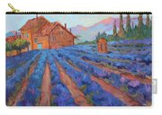 Lavender Field Provence Carry-all Pouch