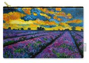 Lavender Fields At Dusk Carry-all Pouch