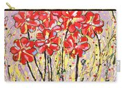 Lavender Flower Garden Carry-all Pouch