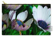 Lavender Frost African Daisy Carry-all Pouch