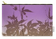 Purple Haiku Carry-all Pouch