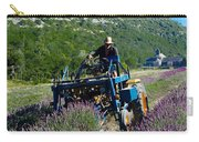 Lavender Harvest In Provence Carry-all Pouch