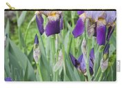 Lavender Iris Group Carry-all Pouch