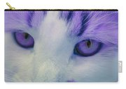 Lavender Kitten Carry-all Pouch
