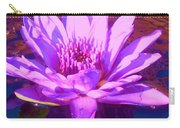 Lavender Lily Carry-all Pouch