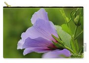 Lavender Rose Of Sharon Flower Carry-all Pouch
