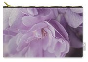 Lavender Purple Roses Rhapsody Carry-all Pouch