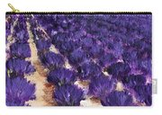 Lavender Study - Marignac-en-diois Carry-all Pouch