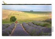 Lavender Valley Carry-all Pouch by Carol Groenen