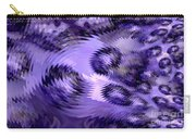 Lavender Water Abstract Carry-all Pouch