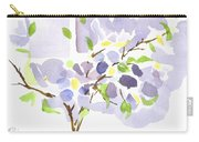 Lavender With Missouri Dogwood In The Window Carry-all Pouch