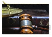 Lawyer - Books Of Justice Carry-all Pouch