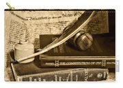 Lawyer - The Constitutional Lawyer In Black And White Carry-all Pouch