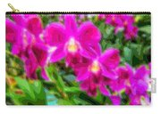 Layer Cut Out Art Flower Orchid Carry-all Pouch