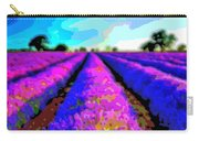 Layer Landscape Art Lavender Field Carry-all Pouch
