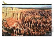 Layered Hoodoos At Bryce Canyon National Park Carry-all Pouch