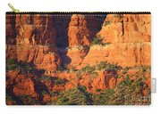 Layers Of Red Rock Carry-all Pouch