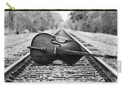 Laying Down Some Tracks Carry-all Pouch by Scott Pellegrin