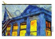 Lazy Daze Beach Cottage On Fourth Of July Carry-all Pouch by Edward Fielding