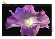 Lazy Petunia Carry-all Pouch