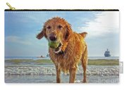 Lazy Summer Days At The Beach Carry-all Pouch by Nishanth Gopinathan
