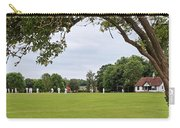 Lazy Sunday Afternoon - Cricket On The Village Green Carry-all Pouch
