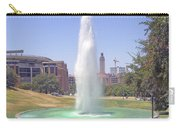 L B J Library Fountain Carry-all Pouch