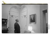 Lbj Looking At Fdr Carry-all Pouch by War Is Hell Store