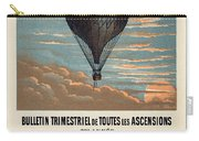 Le Ballon Advertising For French Aeronautical Journal Carry-all Pouch