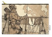 Le Bleuet. Symbol Of Memory And Solidarity In France, For Veterans And Victims Of The First World Carry-all Pouch