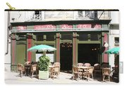 Le Charleston Bar In Tournus Carry-all Pouch