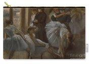 Le Foyer De L'opera Carry-all Pouch by Edgar Degas
