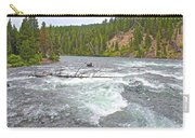Le Hardy Rapids In Yellowstone River In Yellowstone National Park-wyoming   Carry-all Pouch