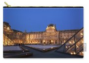 Le Louvre Palace Buildings And Pyramids Carry-all Pouch