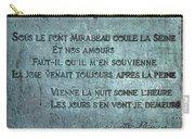 Le Pont Mirabeau Carry-all Pouch