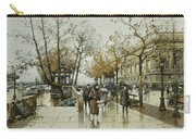 Le Quai De Louvre Paris Carry-all Pouch