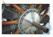 Le Rhone C-9j Engine Carry-all Pouch by Michelle Calkins