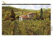 Le Vigne Toscane Carry-all Pouch by Guido Borelli