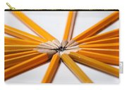 Lead Pencils Isolated On White Carry-all Pouch